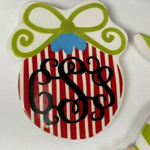 Coton Colors Happy Everything Christmas Ornament